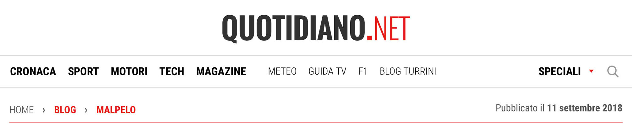 PRESS: quotidiano.net