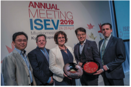ISEV Special Achievement Award 2019 - Recipient: Marca Wauben  for recognition of her extraordinary service to EV science and to ISEV