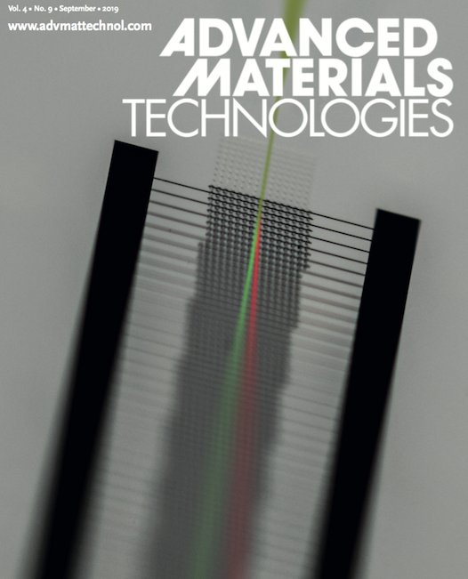 A paper published in Advanced Materials Technologies, highlighting the potential of Electrokinetic Deterministic Lateral Displacement in sorting sub-micron particles