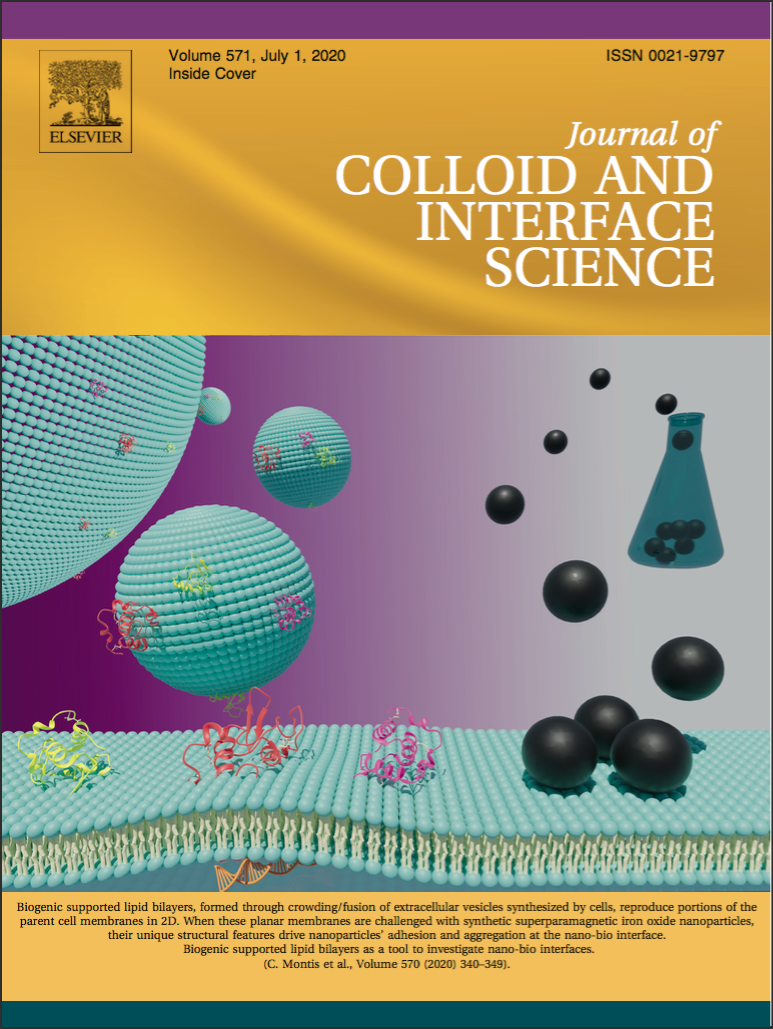A paper published in Journal of Colloid and Interface Science, on extracellular vesicles-based supported lipid bilayers as 2D platforms to study nano-bio interfaces