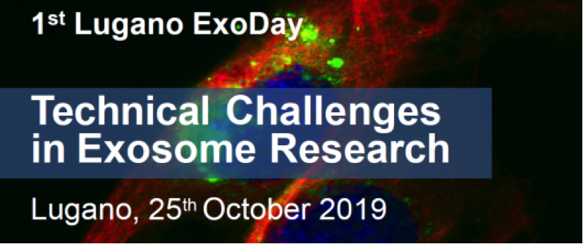 evFOUNDRY member at 1st Lugano ExoDay: Technical Challenges in Exosome Research